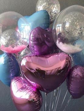 Букет из шаров «Любимой»