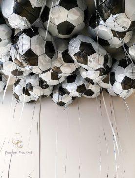 Фольгированные футбольные шары