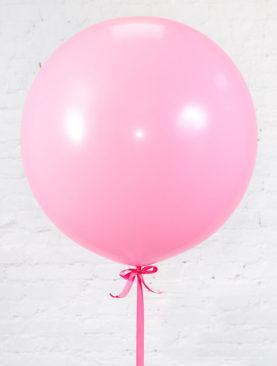 Шар гигант розового цвета