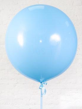 Шар гигант голубого цвета