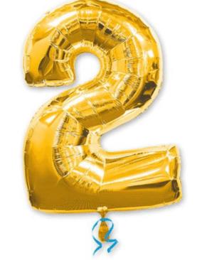 Золотая цифра 2