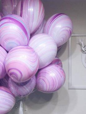 Набор из 20 шариков Агатов-фешн