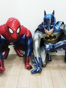 Набор из звух супергероев